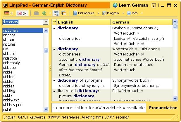 Click to view LingoPad 2.6 screenshot