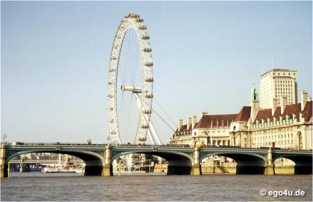 photo of the London Eye